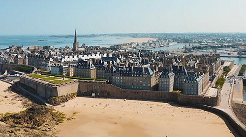 Drone video Bretagne Frankrijk