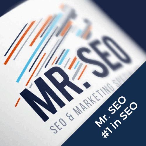 Mr SEO logo en huisstijl