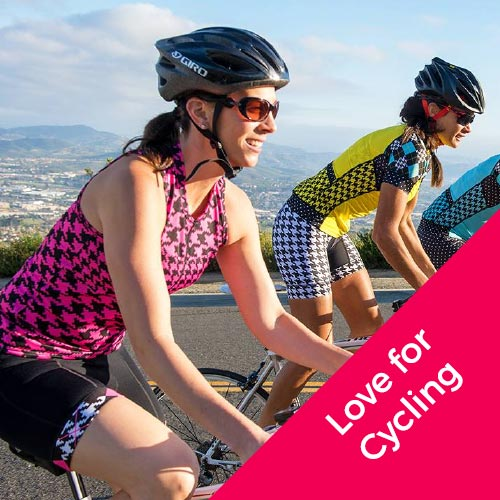 Love for Cycling webshop webdesign