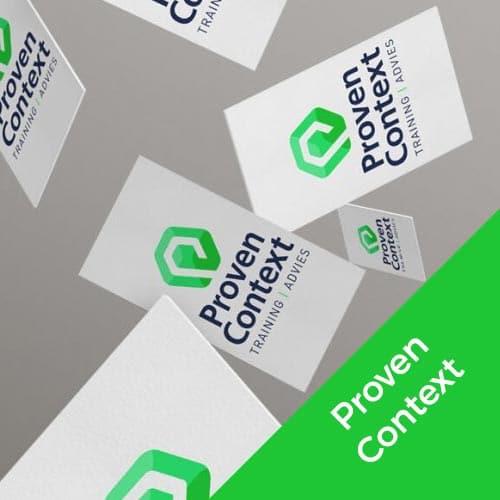 Proven Context logo en huisstijl